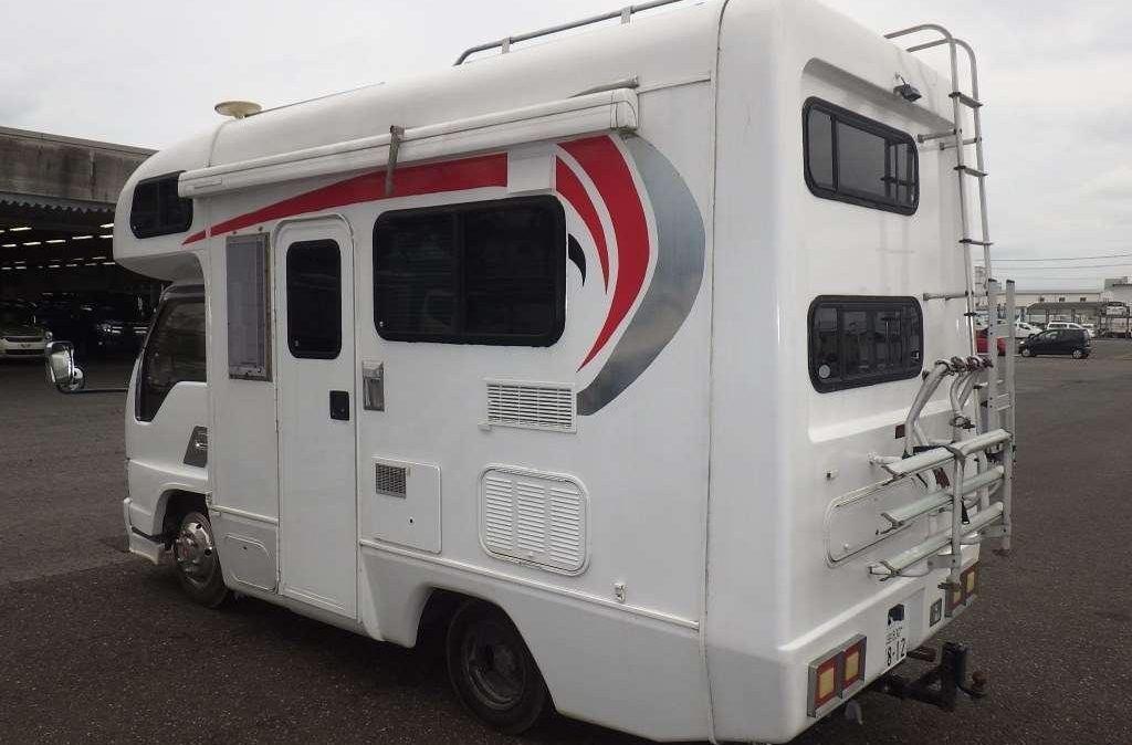 1996 NHS69EAV Isuzu Elf Campervan 3100cc diesel 105,000kms 5spd manual Thurs 15.07.2021 pic02